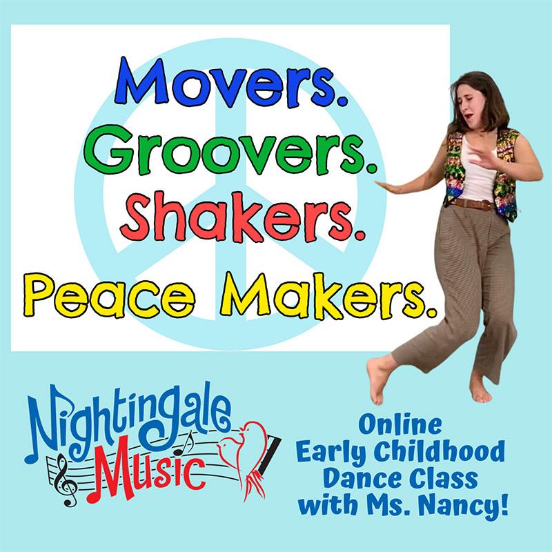 Move, Groove, Shake and Peace Make
