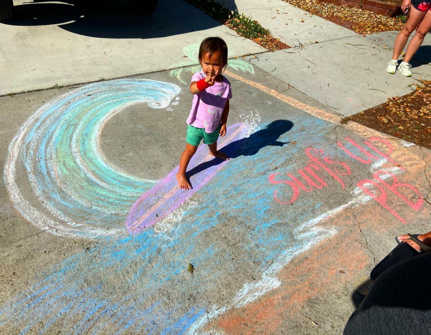 Best Representation of PB Winner of the 2021 PB Chalk Art Contest